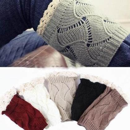 Luxury Women Crochet Knitted Lace T..